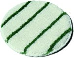 HaSte Kleen Tuf Bonnet with Green Scrubbing Stripes 17 Inch