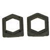 Sanitaire End Cap Cover Rubber Vibra Groomer Pair OEM # 26059A