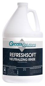 Groom Solutions Refreshsoft Neutralizing Rinse