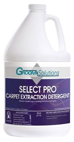 Groom Solutions Select Pro Carpet Extraction Detergent