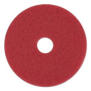 Boardwalk Red Spray Buff Floor Pad 15 Inch