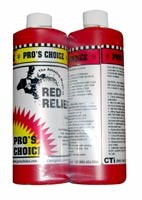 Pro's Choice Red  Stain Remover Red Relief (2 PINTS A&B) (ORM-D)