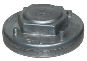 Sanitaire End Cap With Bearing Wood Brushrolls OEM # 38138