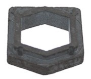 Sanitaire End Cap Cover Rubber All Vibra Groomer OEM # 26059A