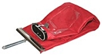 Sanitaire Red Cloth Shakeout  Outer Bag 54582A2