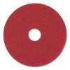 Boardwalk Red Spray Buff Floor Pad 17 Inch
